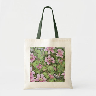 Nesting in Clematis Tote Bag