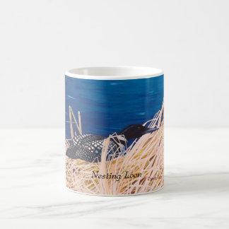 Nesting Loon Mug