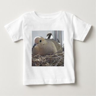 Nesting Mourning Dove Baby T-Shirt