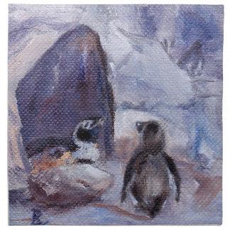 Nesting Penguins Napkins