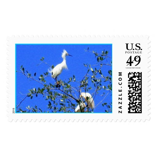 Nesting Postage Stamps