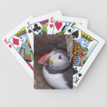 Nesting Puffin Bicycle Playing Cards