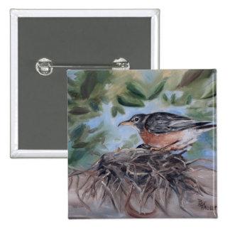 Nesting Robin Button