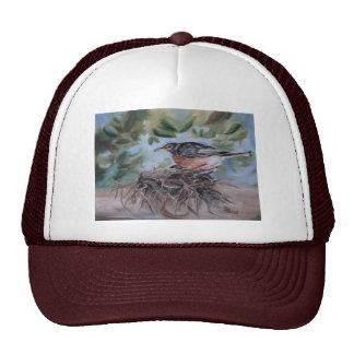 Nesting Robin Hat