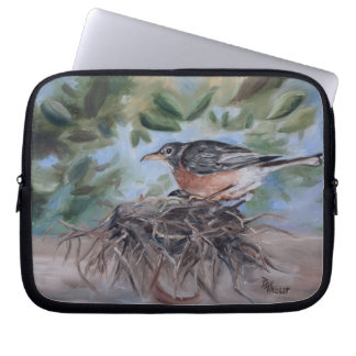 Nesting Robin Laptop Sleeve