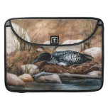 Nesting Time Loon Sleeve For MacBook Pro