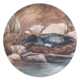 Nesting Time Plate