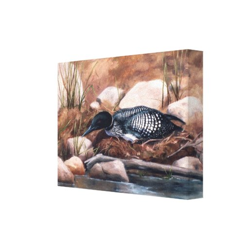 Nesting Time Wrapped Canvas Canvas Prints