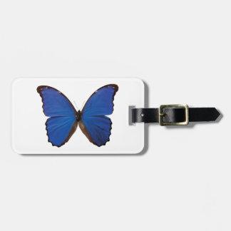 Nestira Marpho butterfly Bag Tag