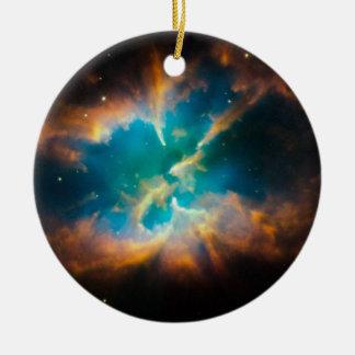Nestled dentro ornamento para arbol de navidad