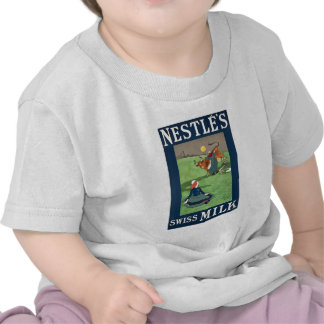 Nestle's Swiss Milk baby T T Shirts