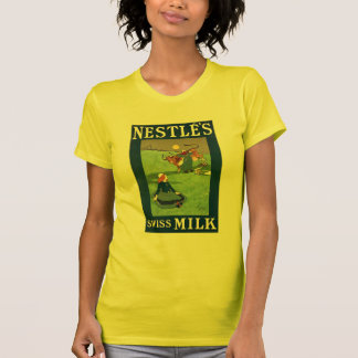 Nestle's Swiss Milk W's yellow Shirts