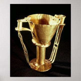 Nestor's cup, Mycenae, c.1550-1500 BC Poster