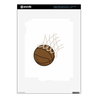 Net and Basketball Decals For iPad 3