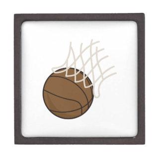 Net and Basketball Jewelry Box