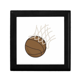 Net and Basketball Keepsake Box