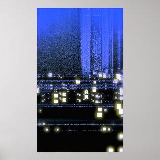 Net Lights Poster