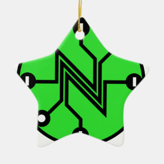 Net Neutrality Ceramic Ornament