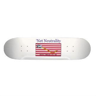 Net Neutrality - Don't Tread On Me Skateboard Deck