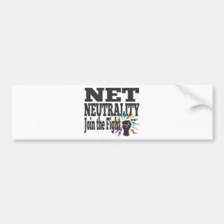 Net Neutrality Fight Bumper Sticker