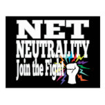 Net Neutrality Fight Postcard