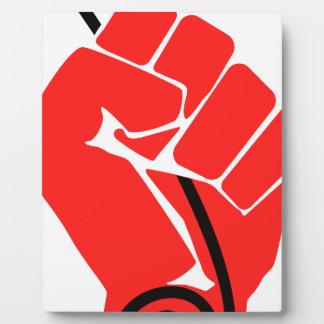 Net Neutrality Fist Plaque