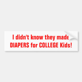 NEt Neutrality=Govt speak:(College Kids) Bumper Sticker