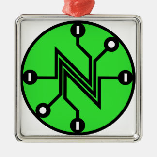Net Neutrality Metal Ornament