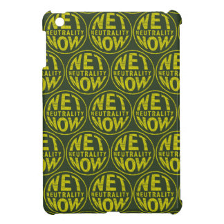Net Neutrality Now - Yellow Cover For The iPad Mini