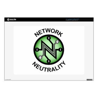 "Net neutrality skin for 15"" laptop"