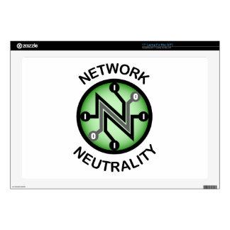 "Net neutrality 17"" laptop decal"