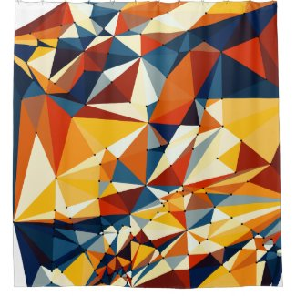 Net of multicolored triangles