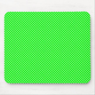 Net Pattern Green with White Mouse Pad