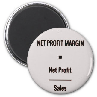 """Net Profit Margin"" Magnet"