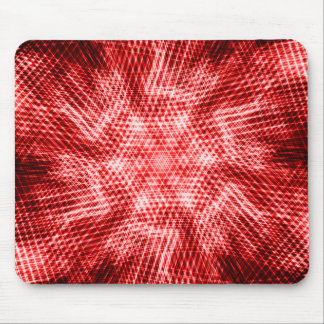 Net Springs - Red Haste Mouse Pad
