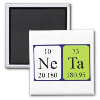 Neta periodic table name magnet