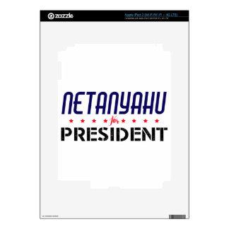 Netanyahu for President Skin For iPad 3