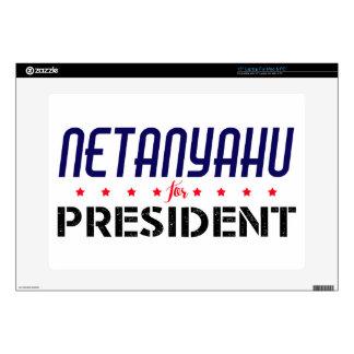 Netanyahu for President Skin For Laptop