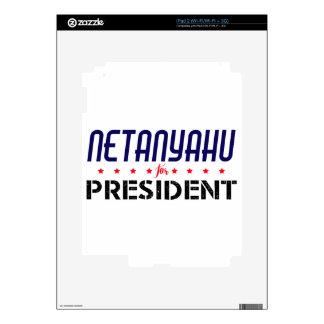 Netanyahu for President Skin For The iPad 2
