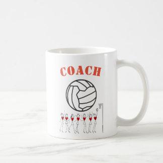 Netball Ball Themed Team Coach Coffee Mug