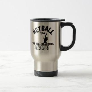 netball design mugs