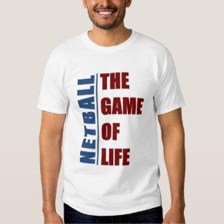 Netball el juego de la vida playeras