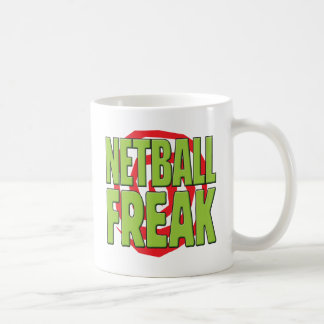 Netball Freak G Coffee Mug