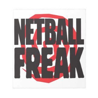 Netball Freak Memo Note Pads