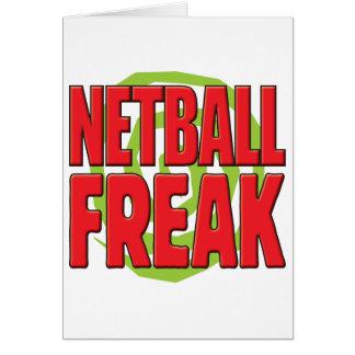 Netball R anormal Tarjeta De Felicitación