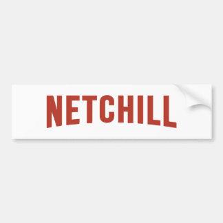 NETCHILL NETFLIX BUMPER STICKER