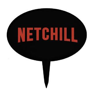NETCHILL NETFLIX CAKE TOPPER