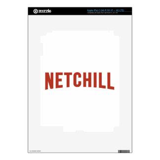 NETCHILL NETFLIX PEGATINA SKIN PARA iPad 3