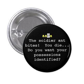 Nethack: ¡Las mordeduras de la hormiga del soldado Pin Redondo 2,5 Cm