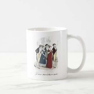 Netherfield Party Arrives at Meryton Assembly Coffee Mug